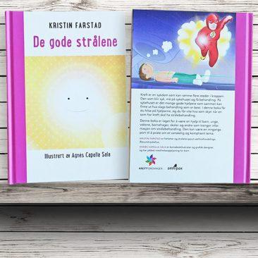 "Llibre ""De Gode Strålene"" Omnipax Forlag, 2015"