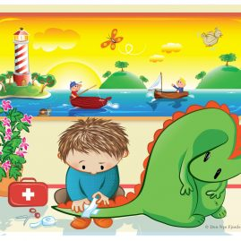 Illustration applied in hospitals, 2011