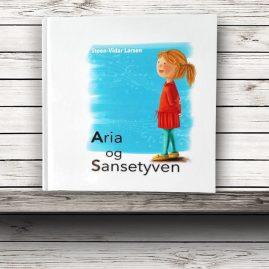 """Bok """"Aria og Sansetyven"""" Musikkforlagene, 2016"""