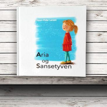 """Llibre """"Aria og Sansetyven"""" Musikkforlagene, 2016"""